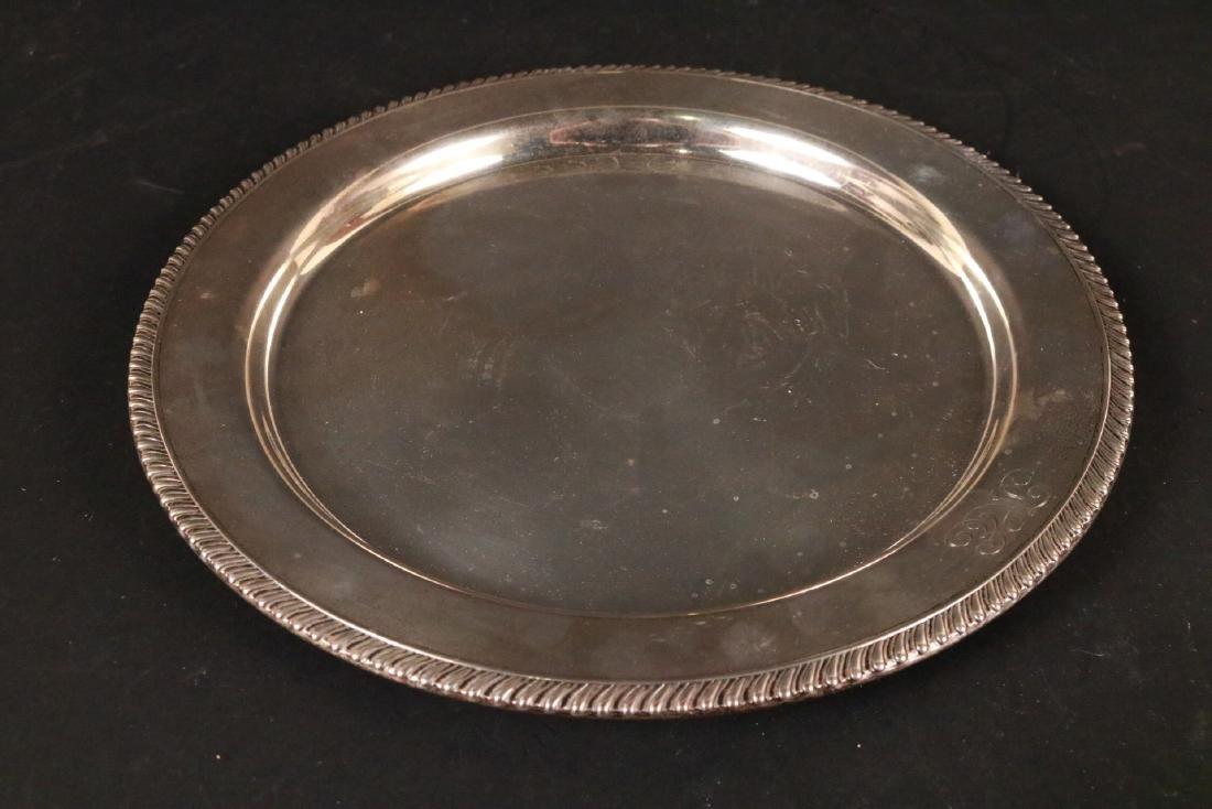 JE Caldwell Sterling Silver Circular Tray