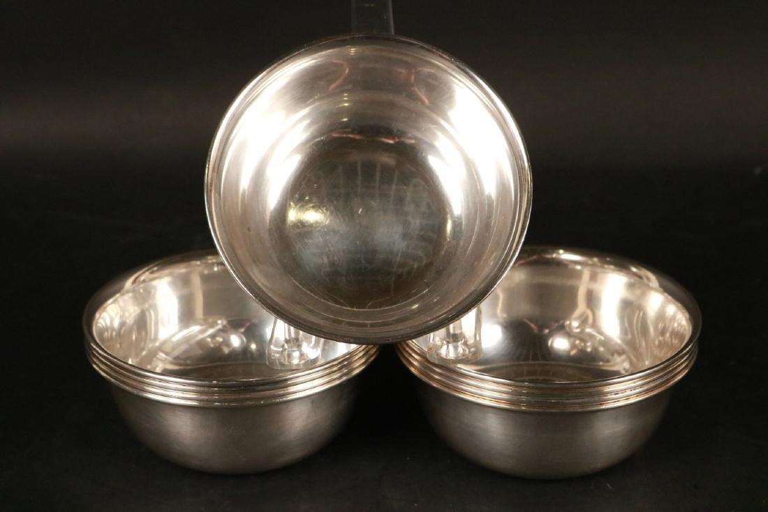 Set of Nine S. Kirk & Son Sterling Silver Bowls