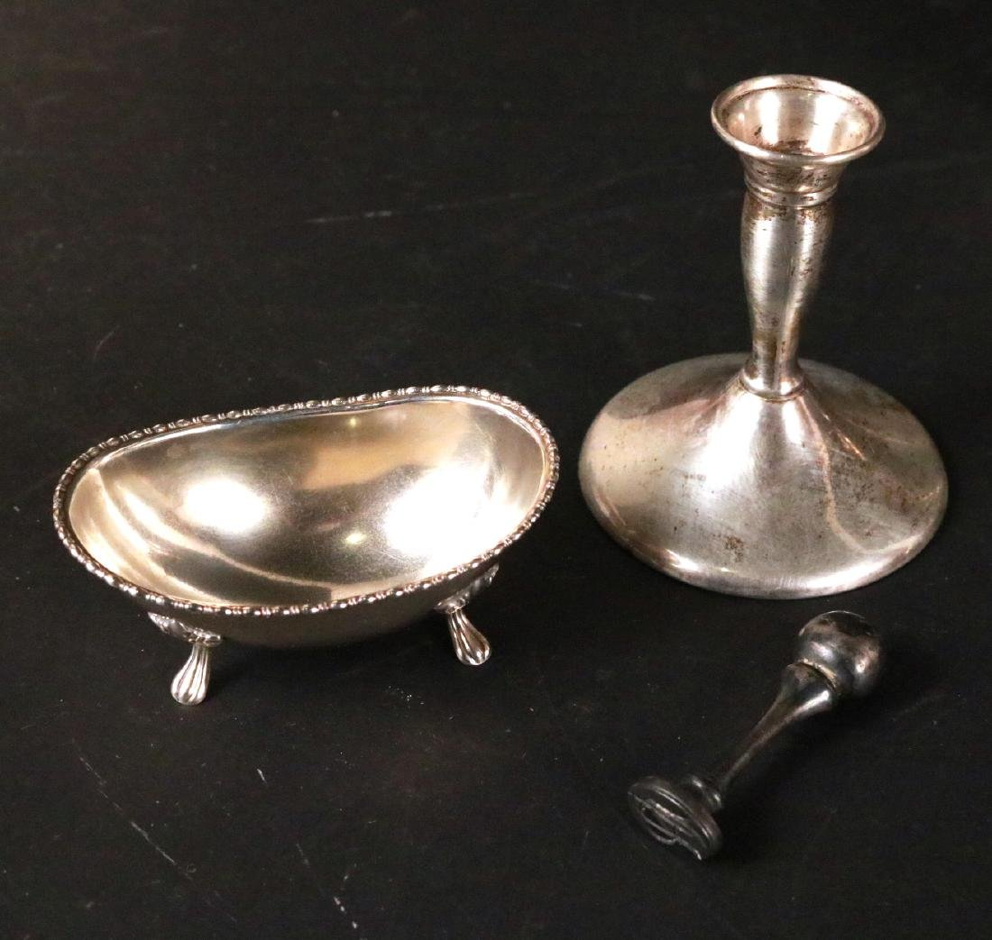 Group of Sterling Silver Table Items - 6