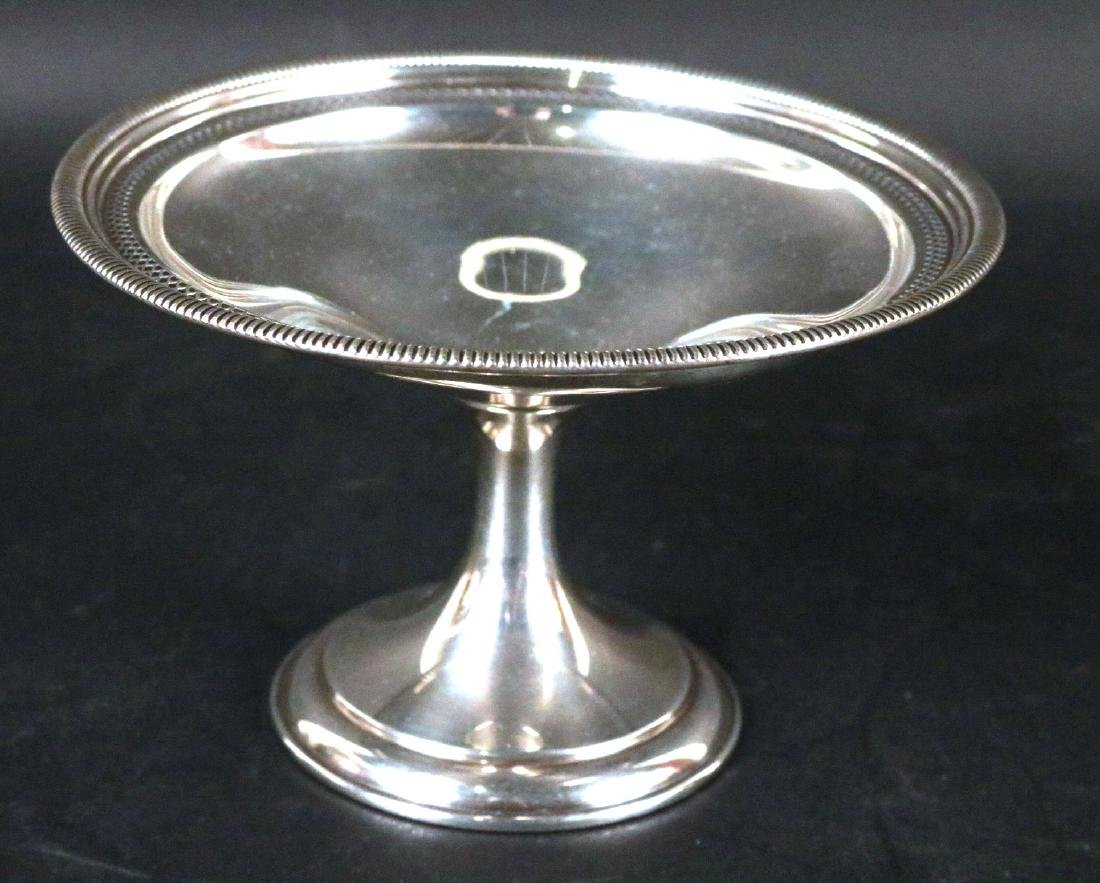 Group of Sterling Silver Table Items - 8