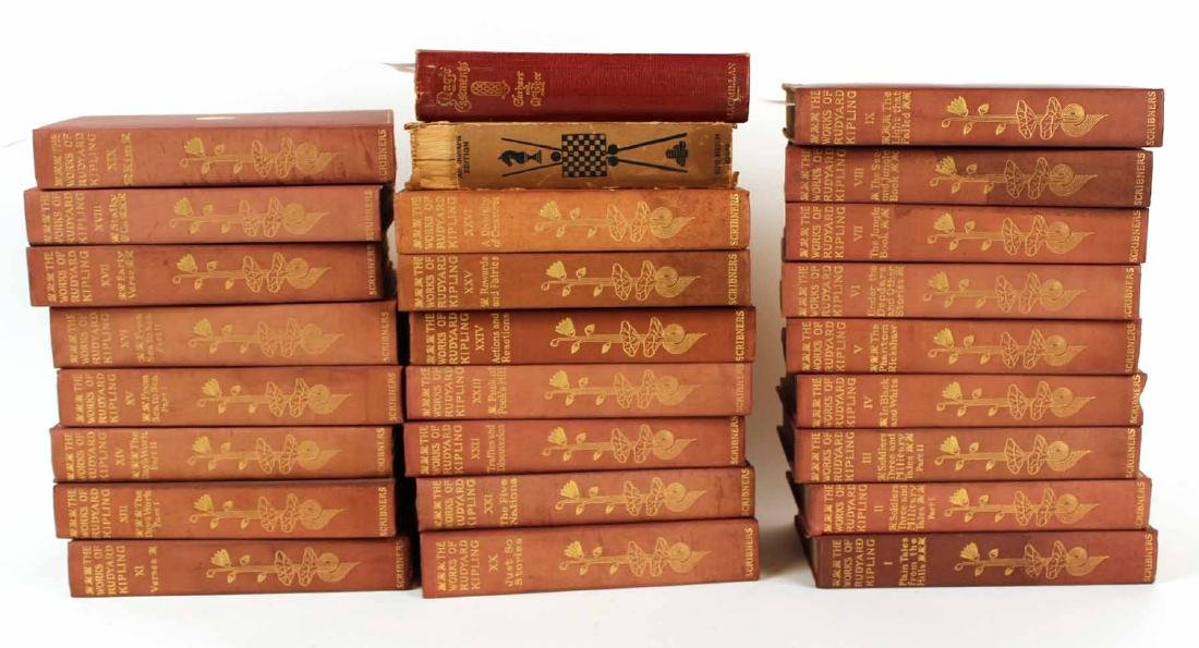 "Tweny-Four Volumes ""The Works of Rudyard Kipling"""