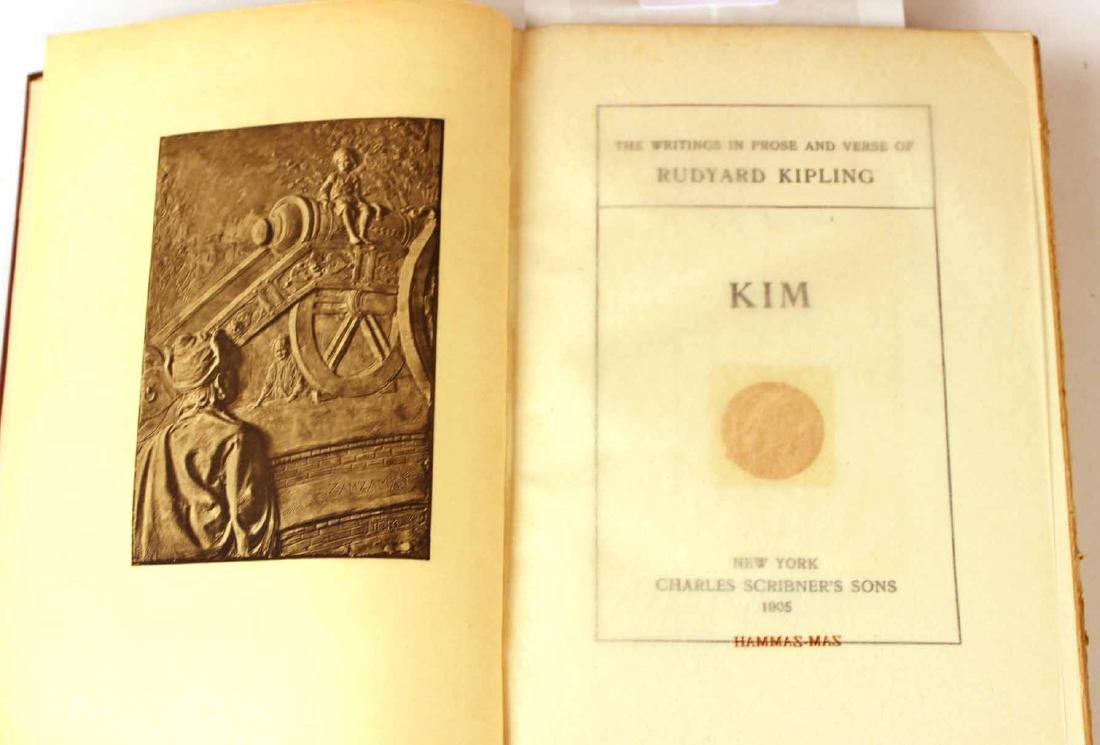 "Tweny-Four Volumes ""The Works of Rudyard Kipling"" - 5"