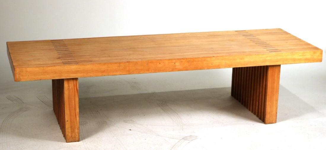 Modern Oak Low Table