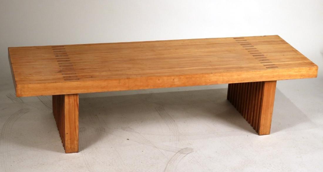 Modern Oak Low Table - 2