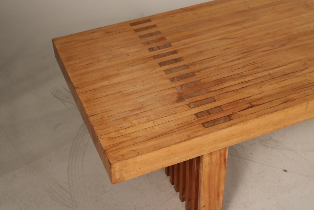 Modern Oak Low Table - 3