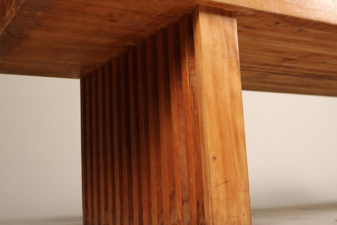 Modern Oak Low Table - 4