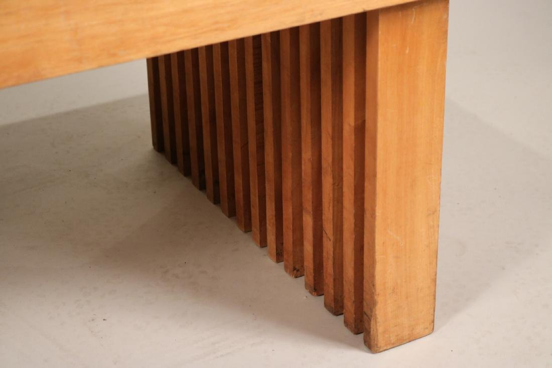Modern Oak Low Table - 5
