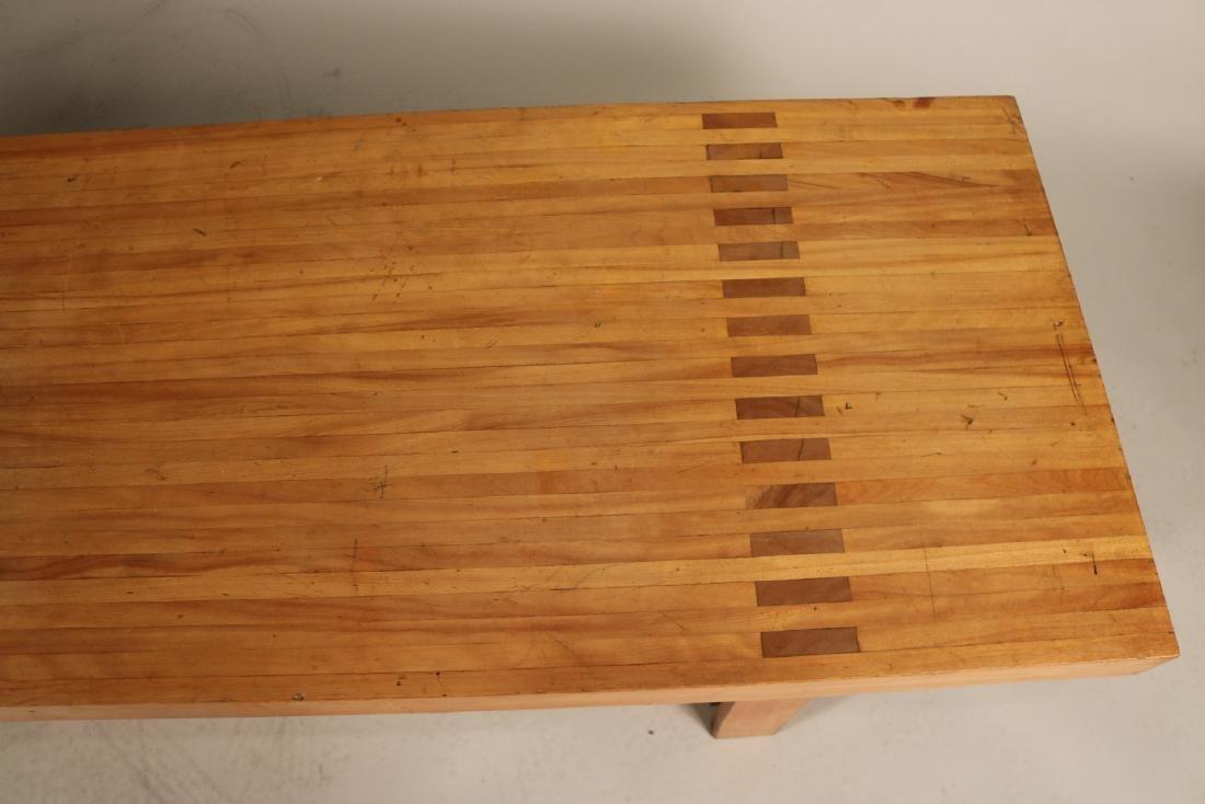 Modern Oak Low Table - 6