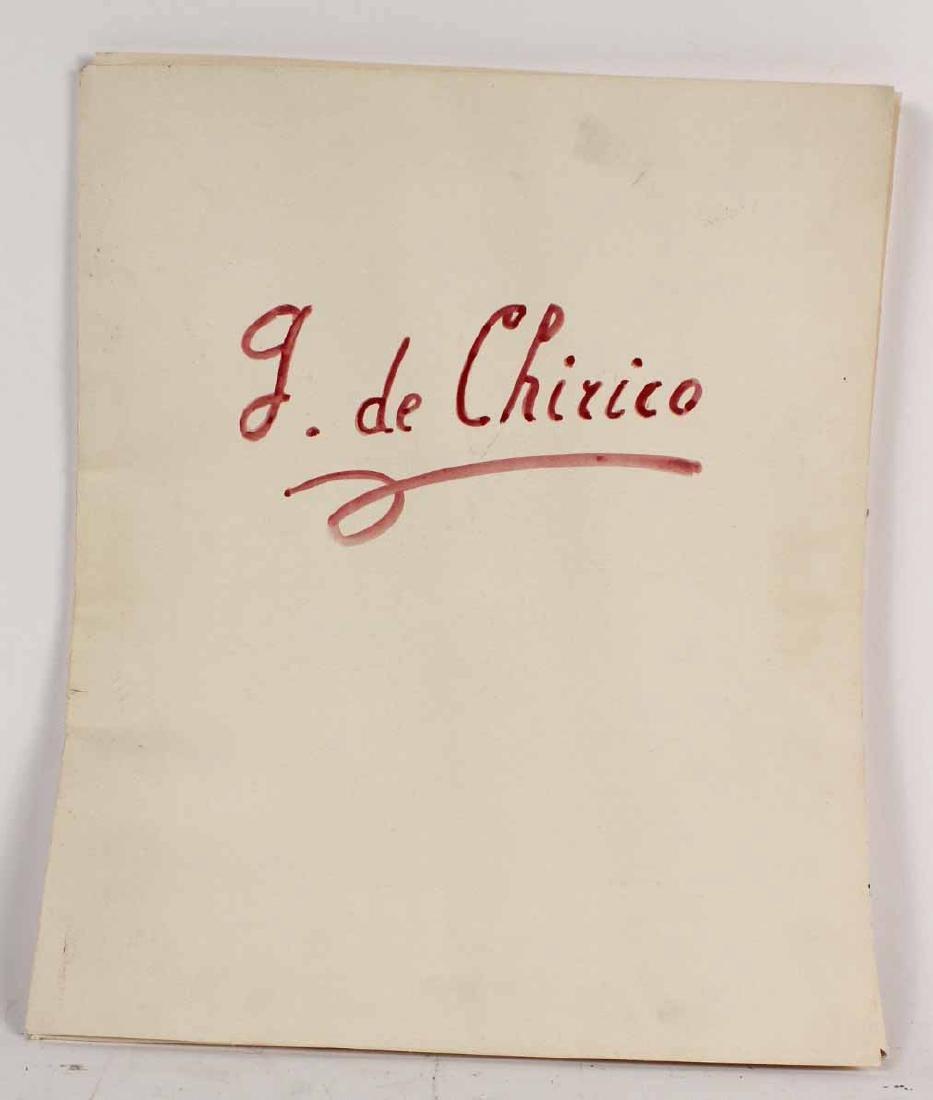 Portfolio of Prints, Giorgio de Chirico