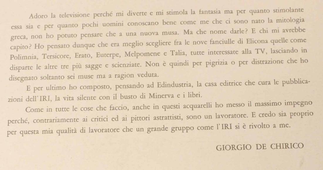 Portfolio of Prints, Giorgio de Chirico - 7