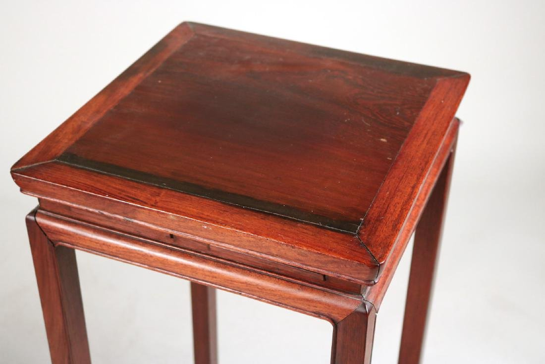 Two Chinese Hardwood Plant Stands - 3