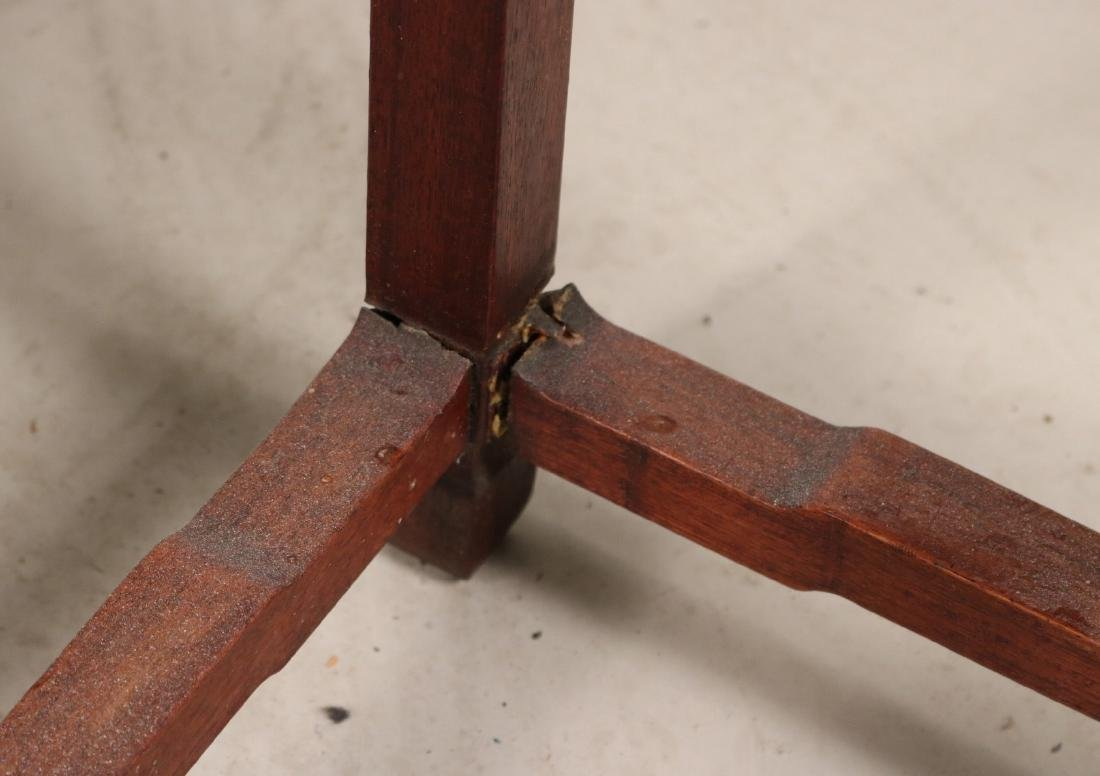 Two Chinese Hardwood Plant Stands - 4