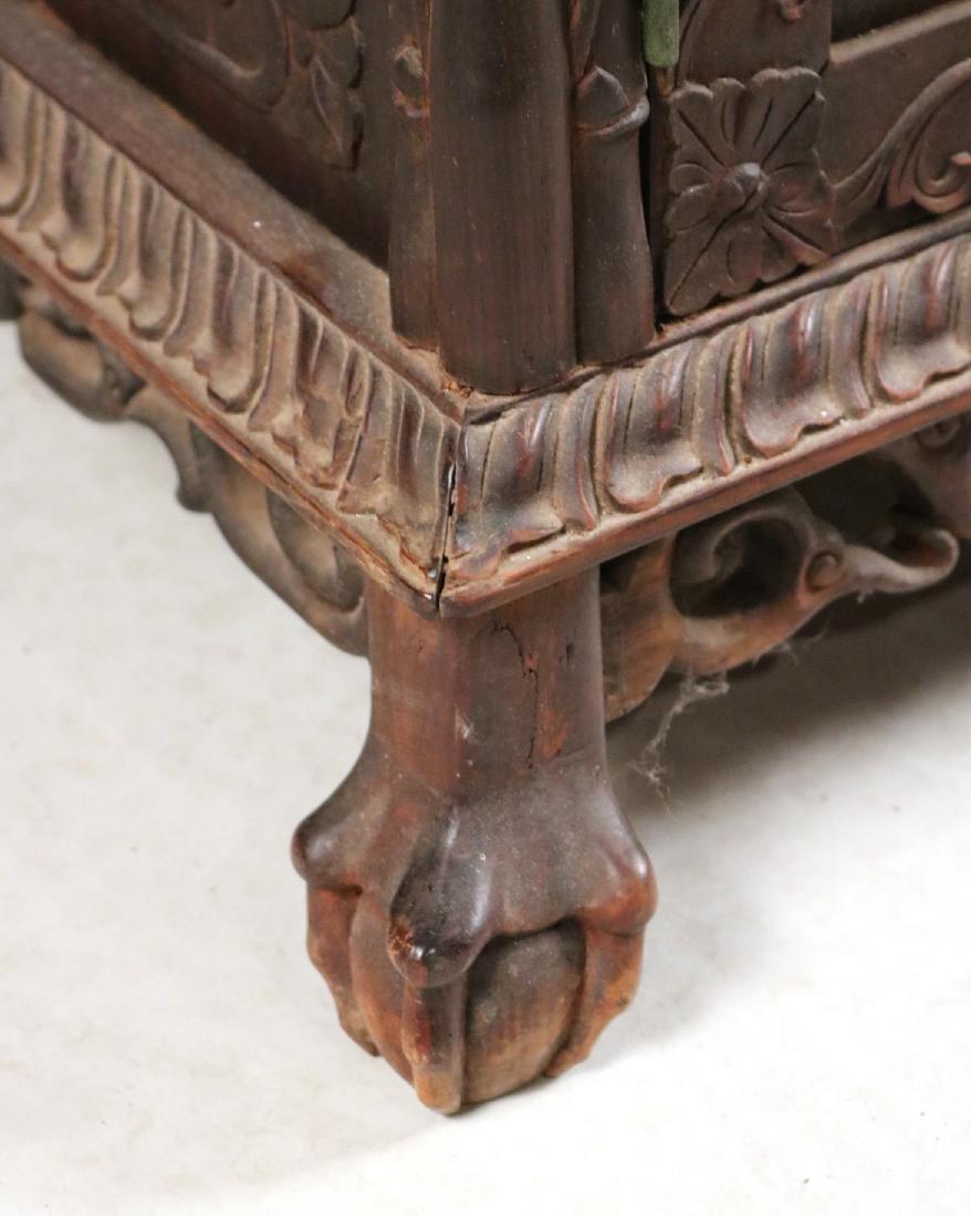 Chinese Carved Hardwood Etagere - 4