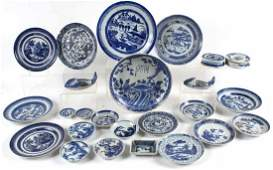 Blue and White Chinese Export Plates
