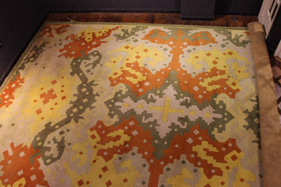 Modern Edward Fields Geometric Carpet