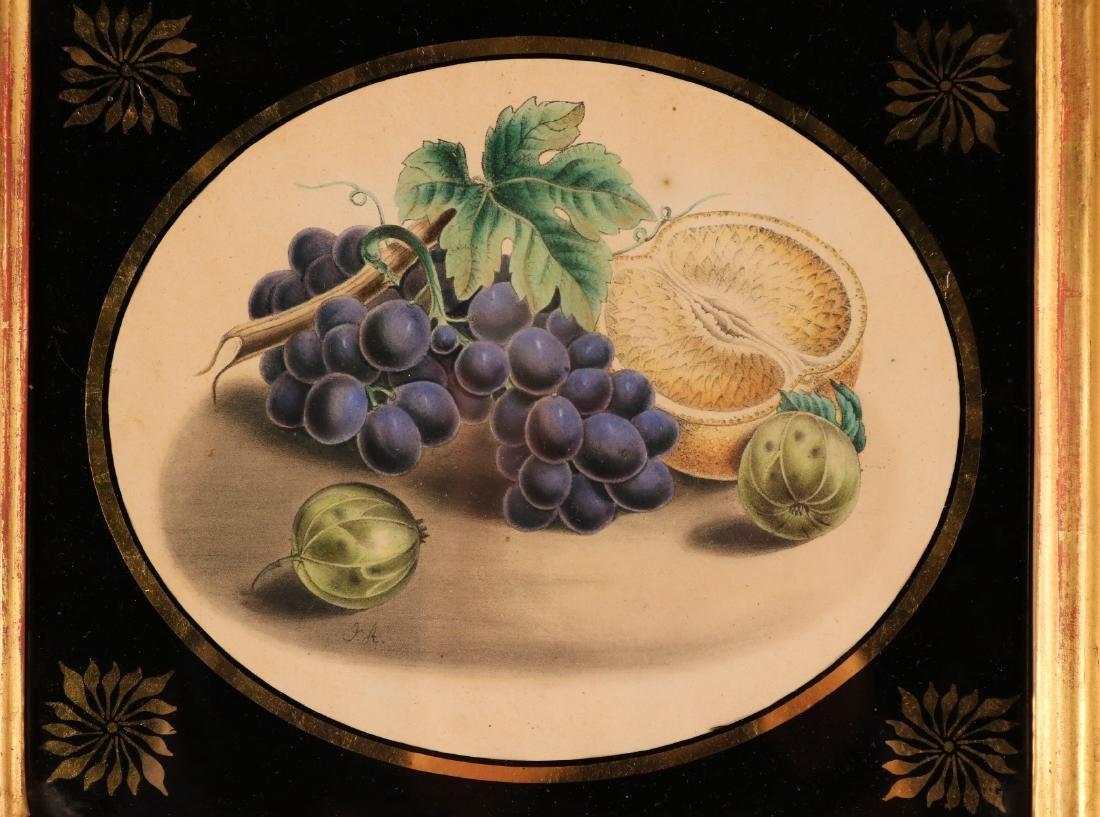 Two Egloisme Framed Fruit Still Life Prints - 3
