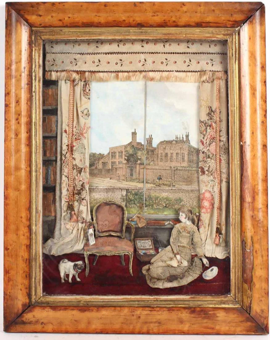 Diorama Interior Scene