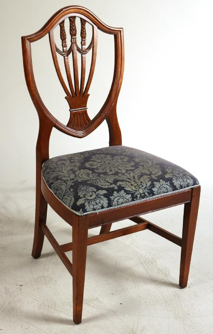 Six Federal Style Mahogany Side Chairs - 2