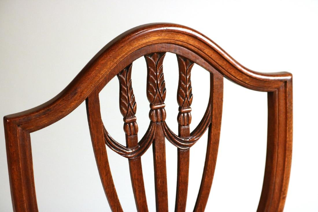 Six Federal Style Mahogany Side Chairs - 4