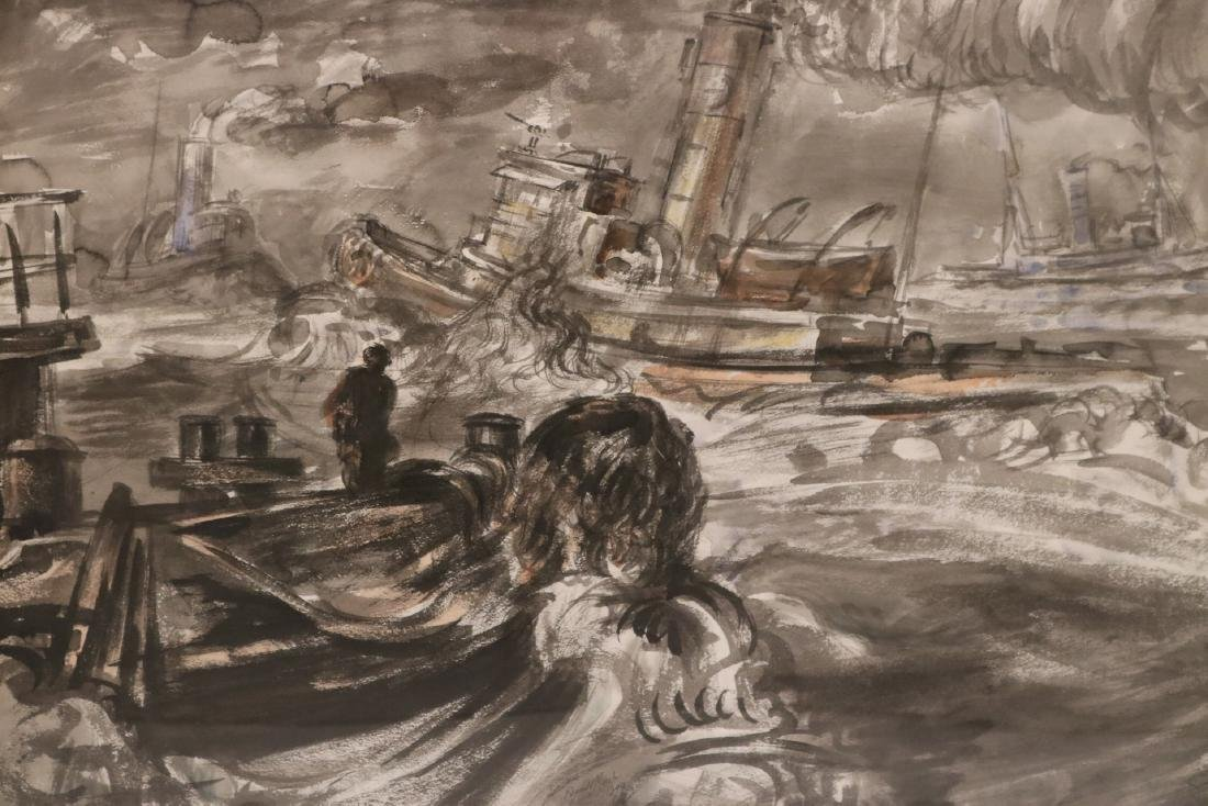 Watercolor, Ink on Paper, Reginald Marsh - 2