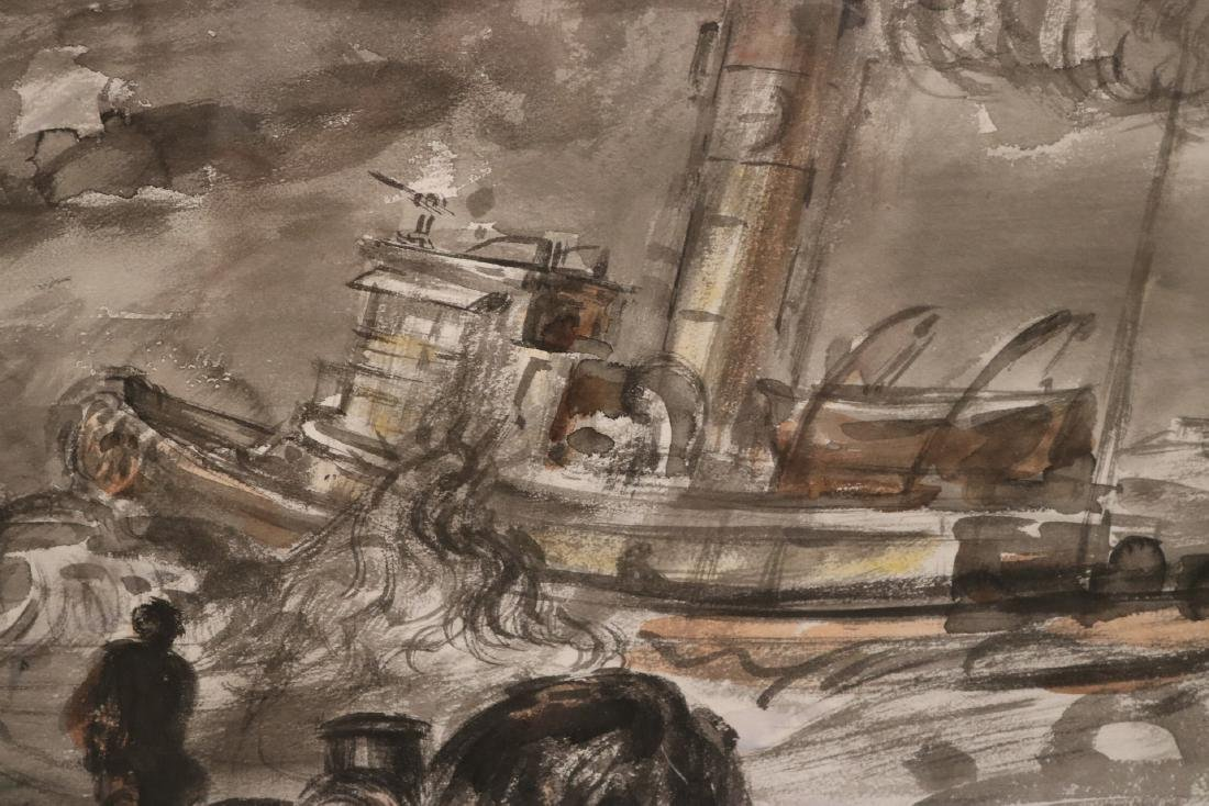 Watercolor, Ink on Paper, Reginald Marsh - 3
