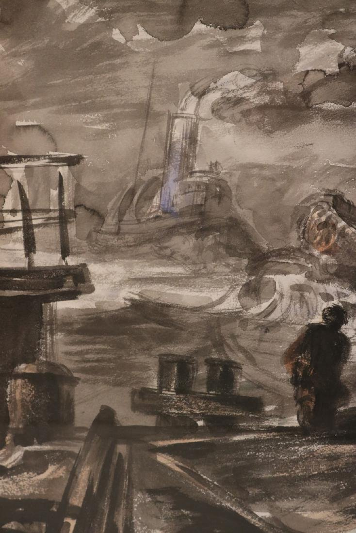 Watercolor, Ink on Paper, Reginald Marsh - 5