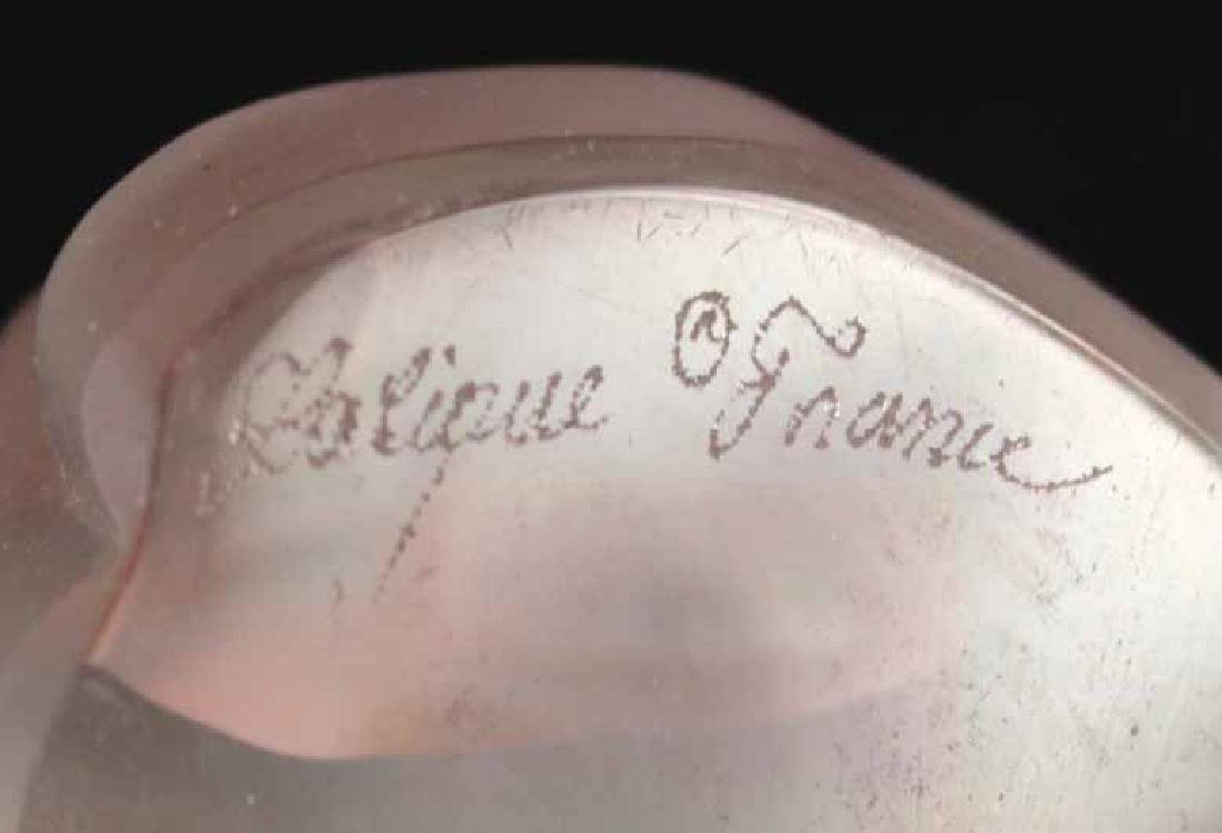 Three Crystal Colorless Lalique Articles - 8