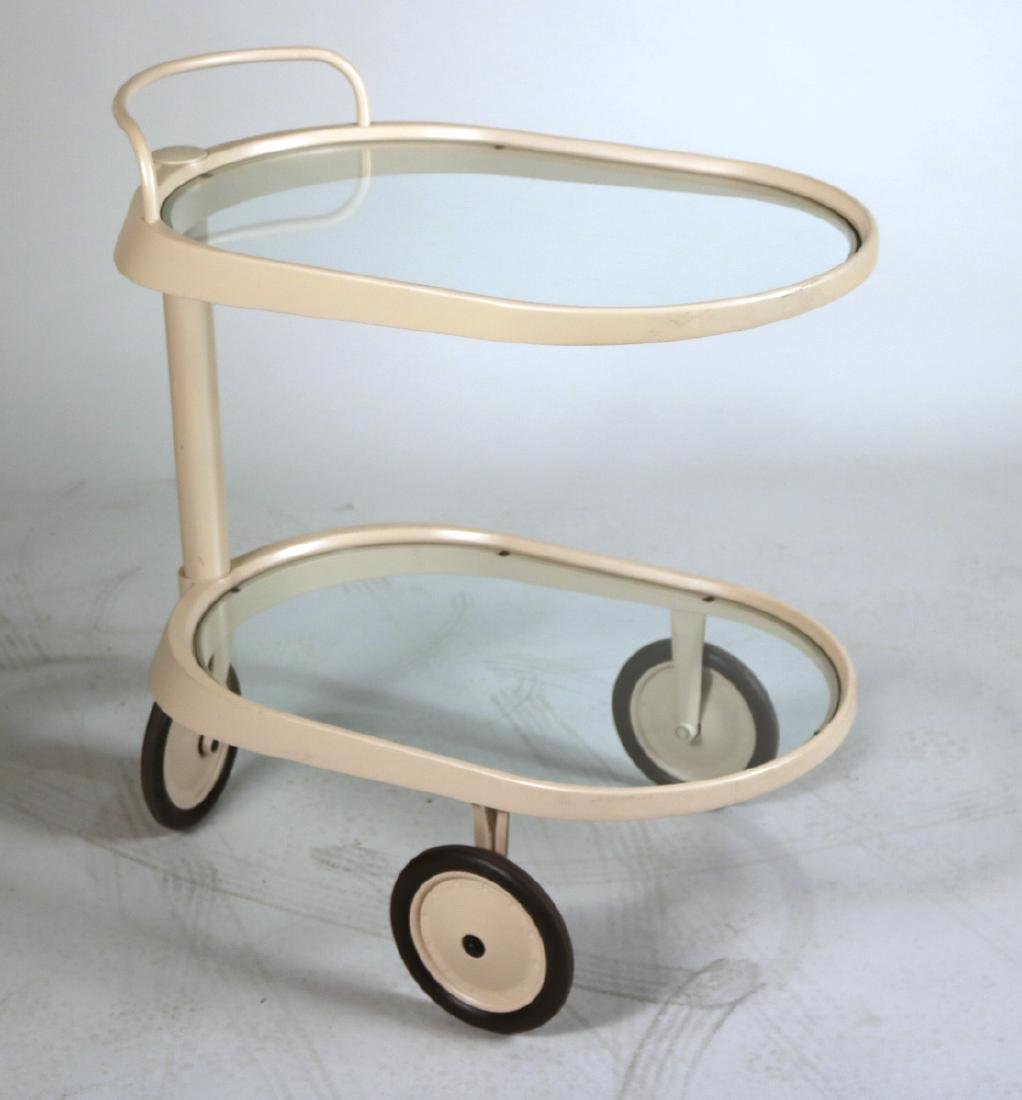Enzo Mari Emsta Bar Cart for Alessi
