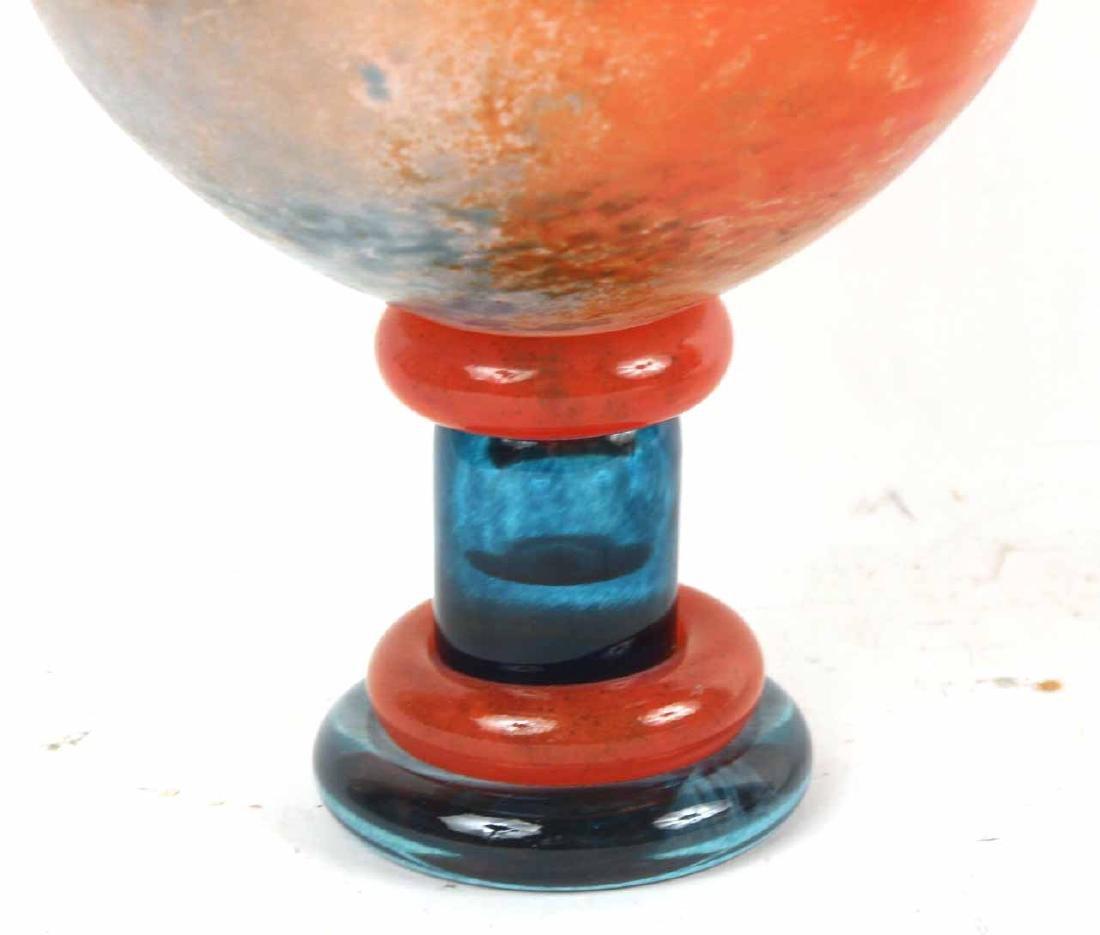 Kosta Boda Art Glass Compote - 5