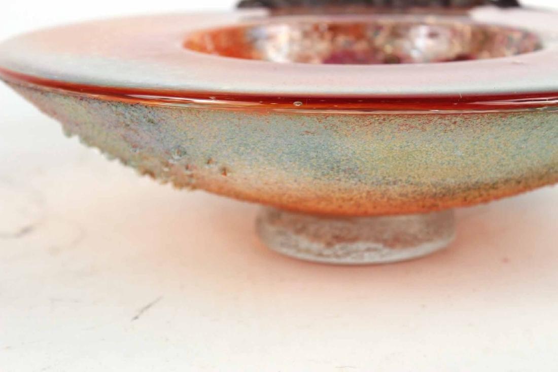 Kosta Boda Art Glass Compote - 8
