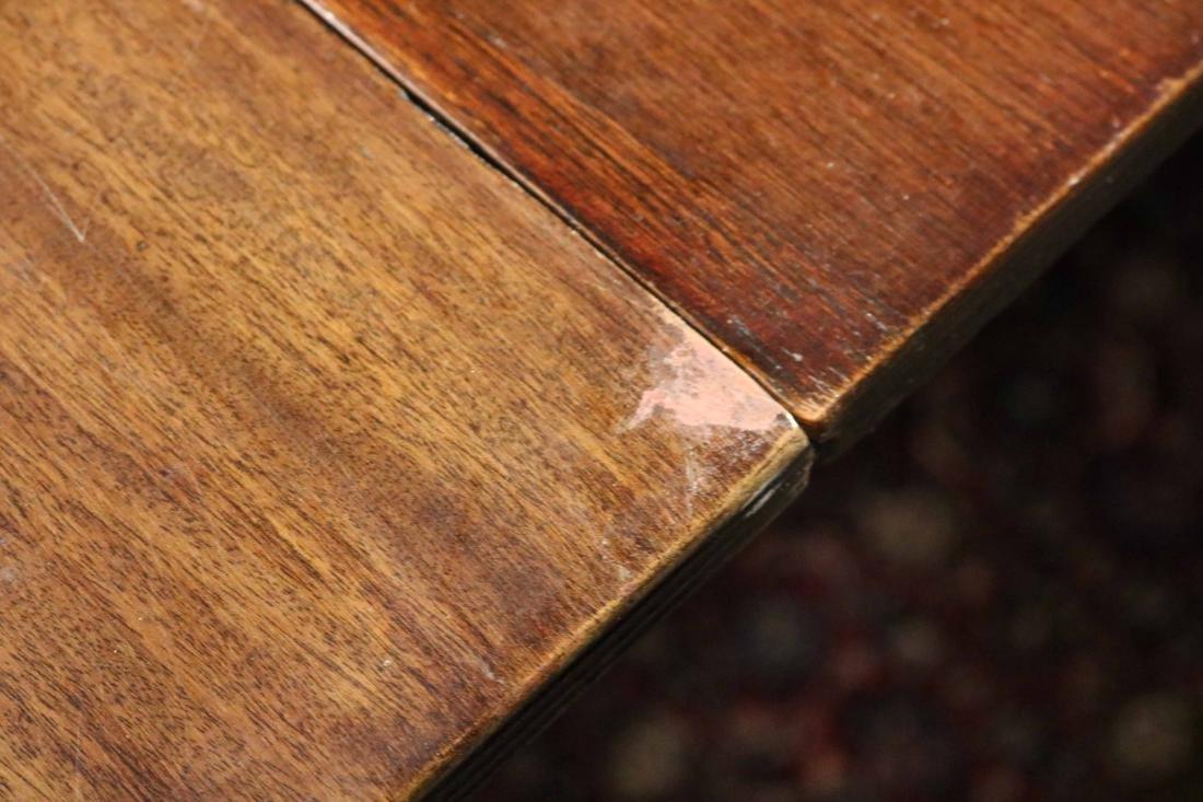 Regency Mahogany Extension Dining Table - 4