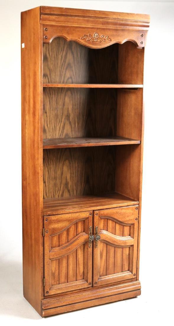 Two Modern Oak Bookcases - 2