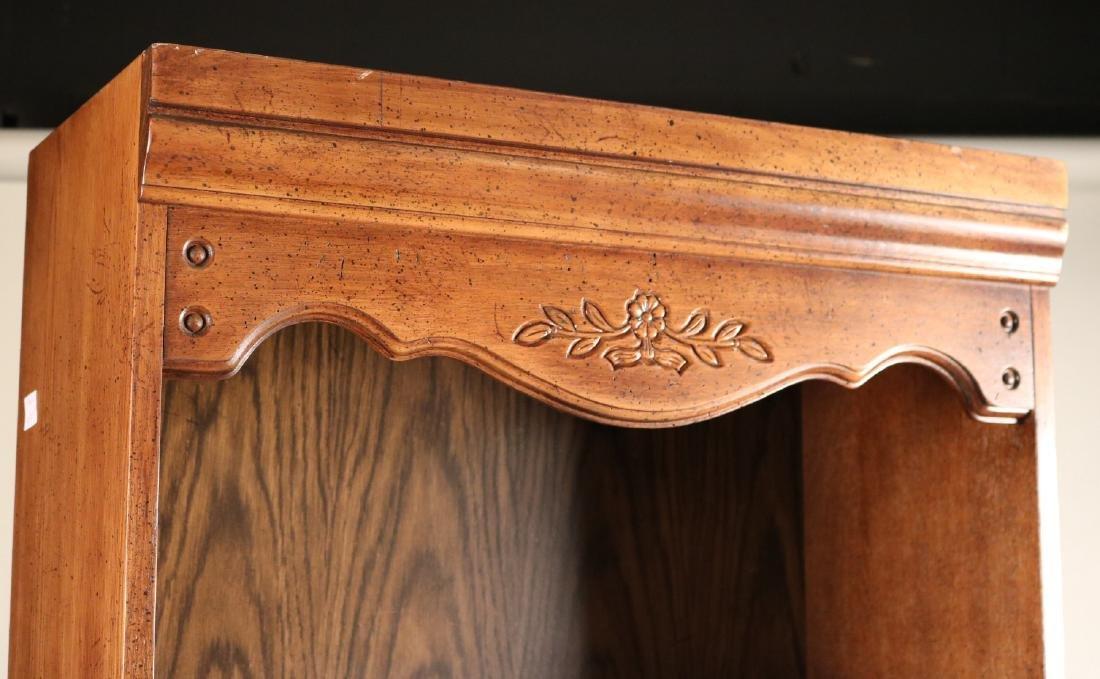 Two Modern Oak Bookcases - 4