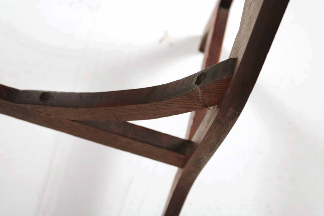 Oak Two-Drawer Side Table - 7