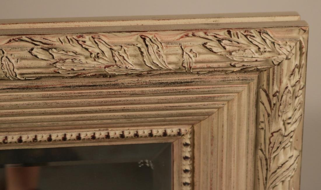 Neoclassical Style White-Painted Mirror - 2