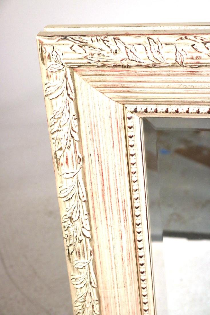 Neoclassical Style White-Painted Mirror - 3