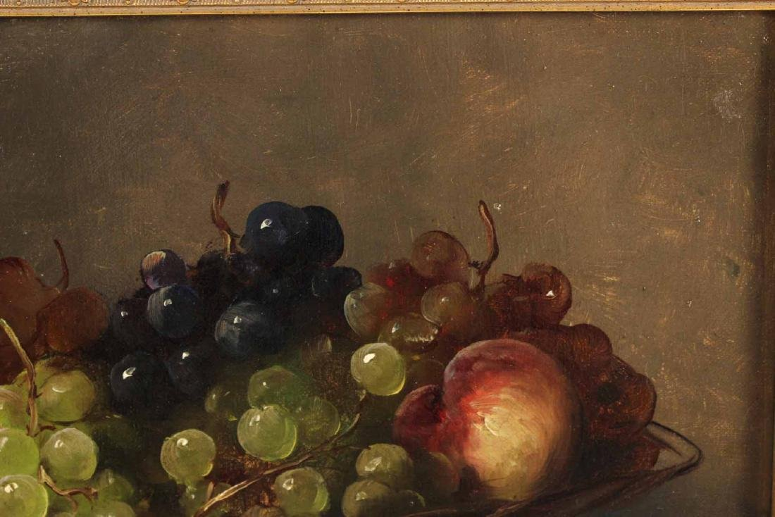 Oil on Canvas, Still Life with Grapes - 4
