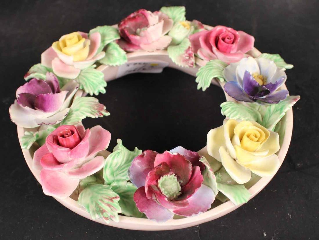 Six Porcelain Floral Arrangements - 3