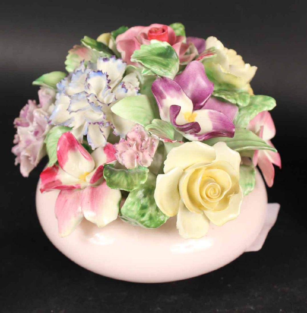 Six Porcelain Floral Arrangements - 6