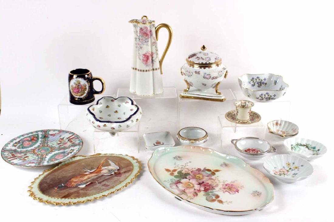 French, Continental & Chinese Porcelain Articles