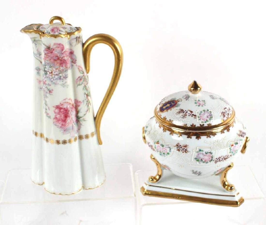 French, Continental & Chinese Porcelain Articles - 7
