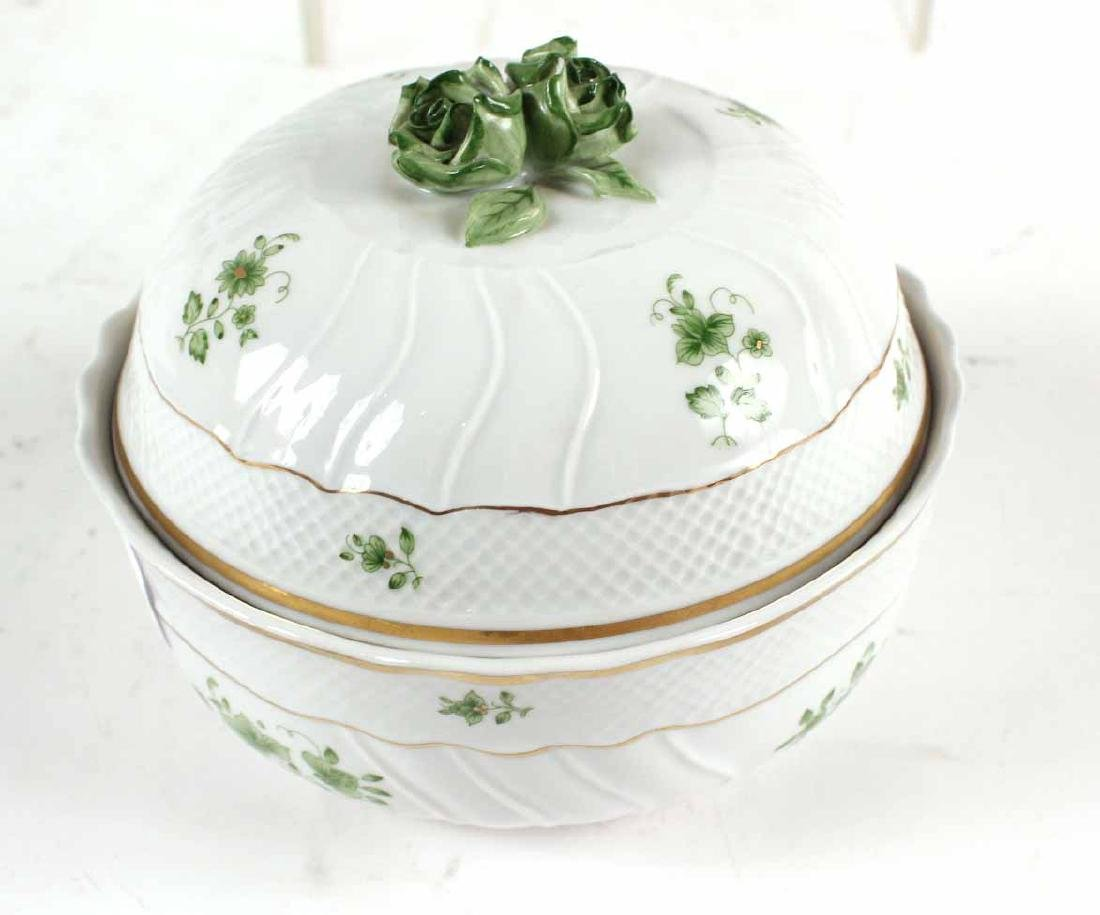 Two Herend Porcelain Articles - 7