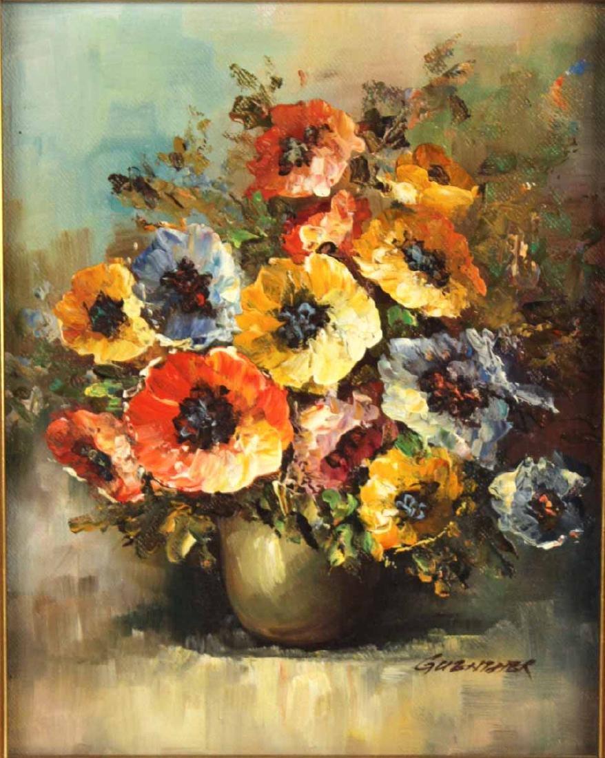Oil on Canvas Still Life - 2