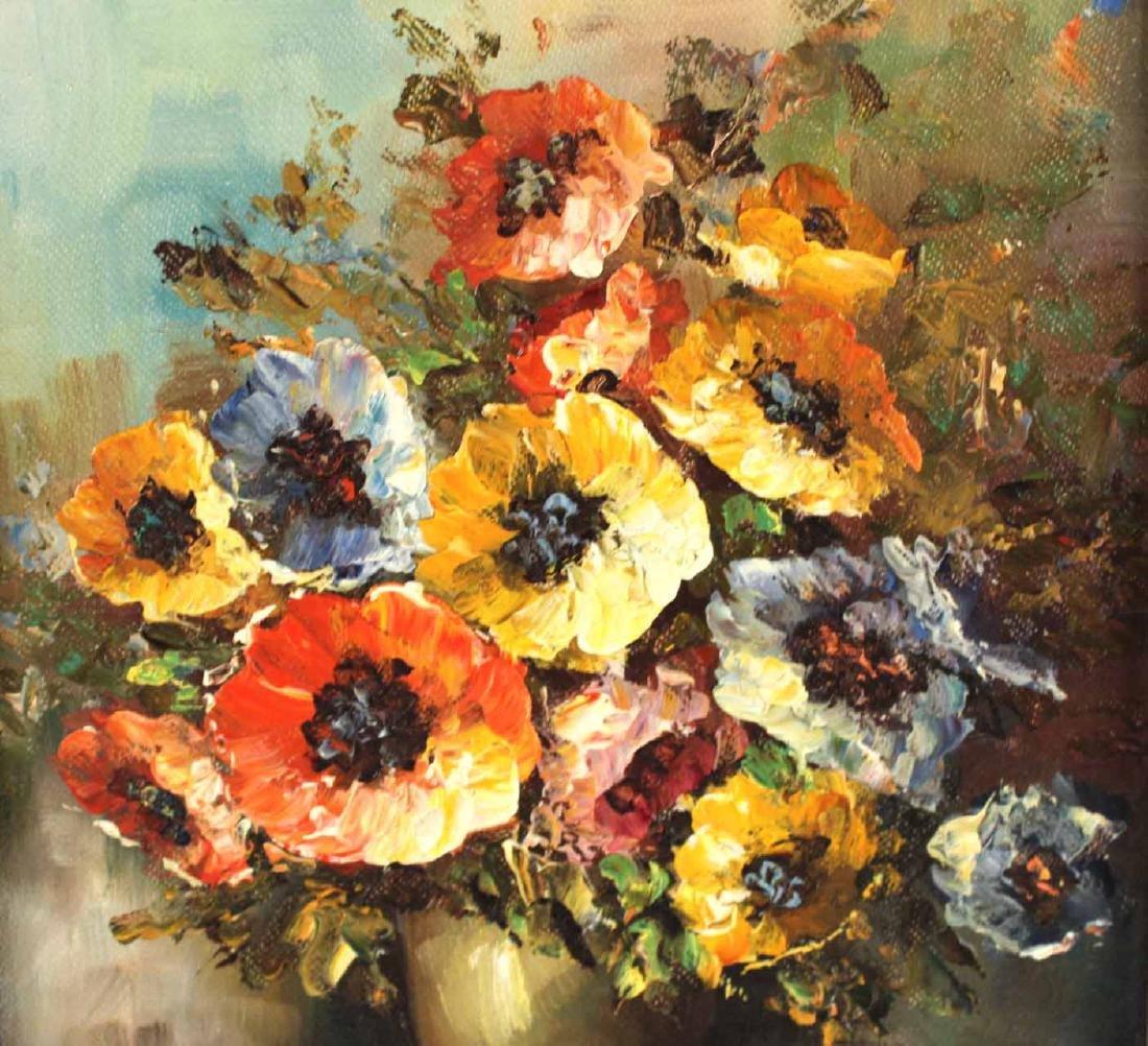 Oil on Canvas Still Life - 4