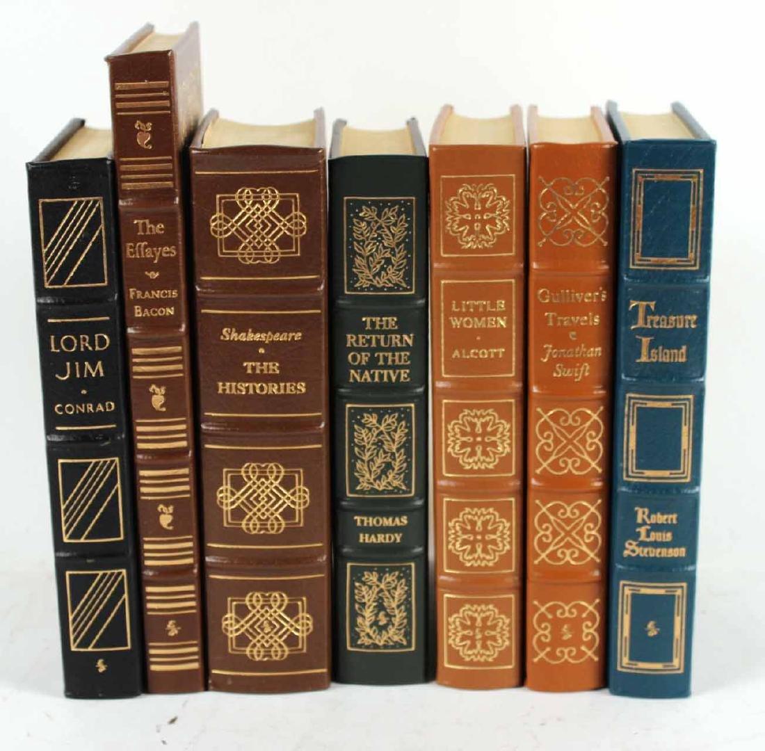 Seven Easton Press Leather Bound Books