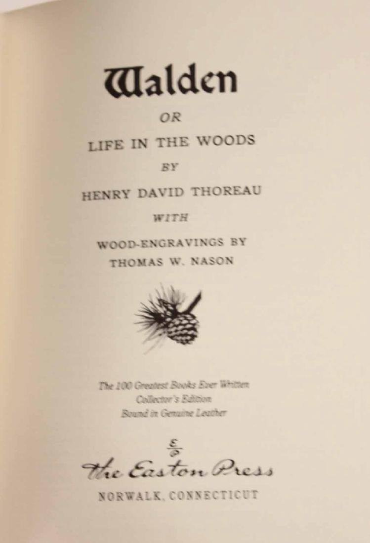 Seven Easton Press Leather Bound Books - 5