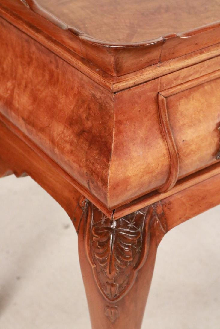 George I Style Burlwood Tray-Top Table - 2