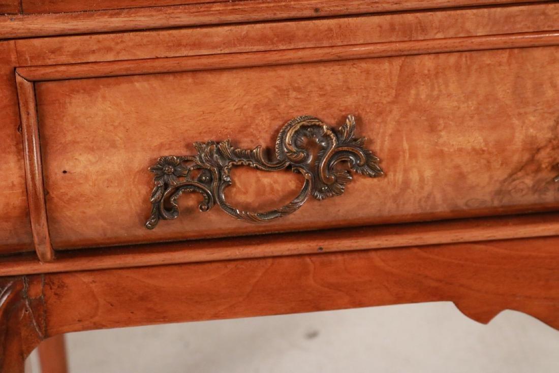 George I Style Burlwood Tray-Top Table - 4