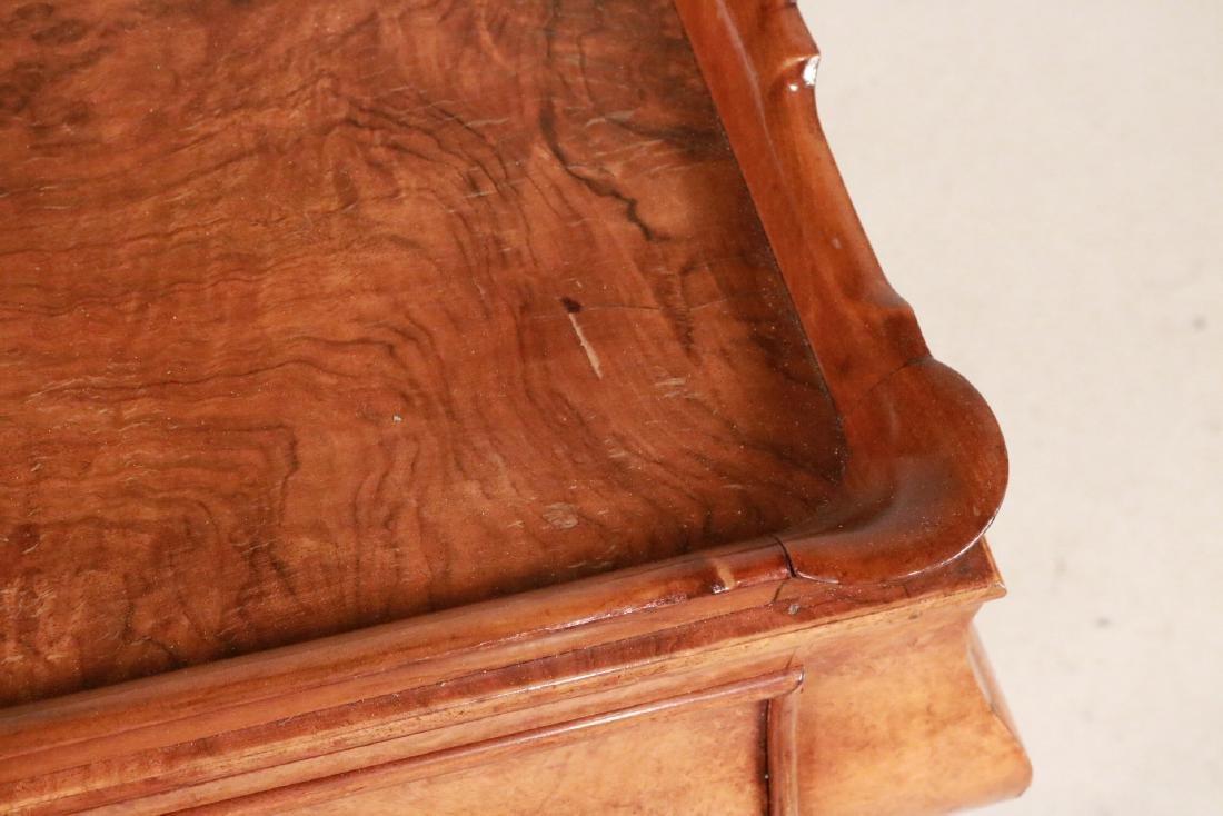 George I Style Burlwood Tray-Top Table - 6
