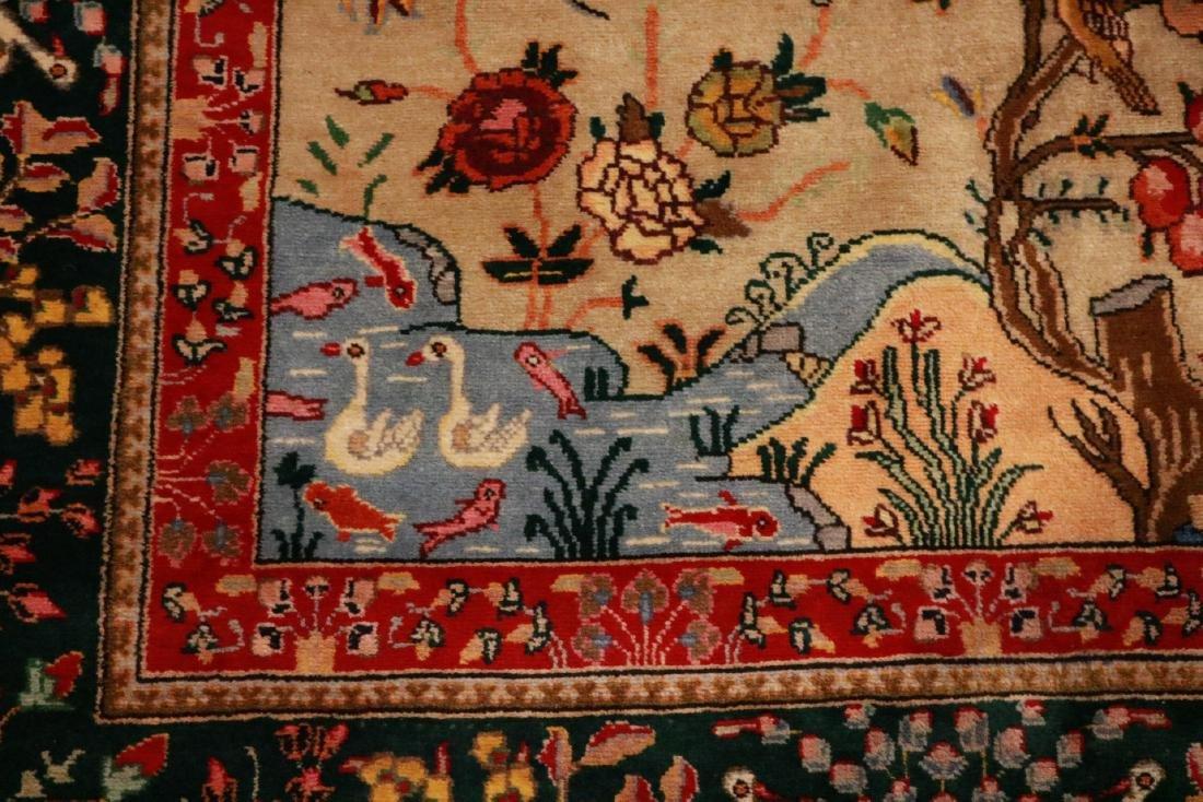 Persian Pictorial Carpet - 3
